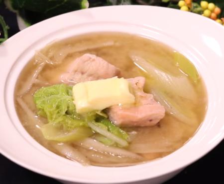 プチ石狩鍋 低糖質スープ