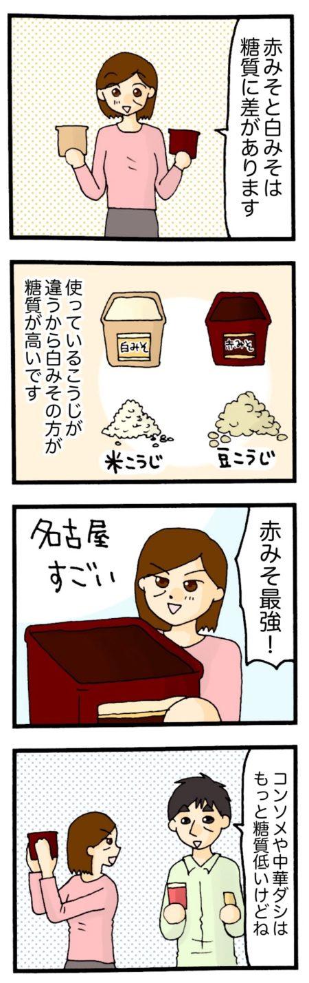 糖質制限 スープ 4コマ漫画