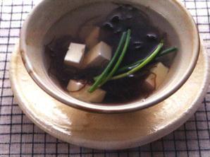 低糖質スープ モズクスープ