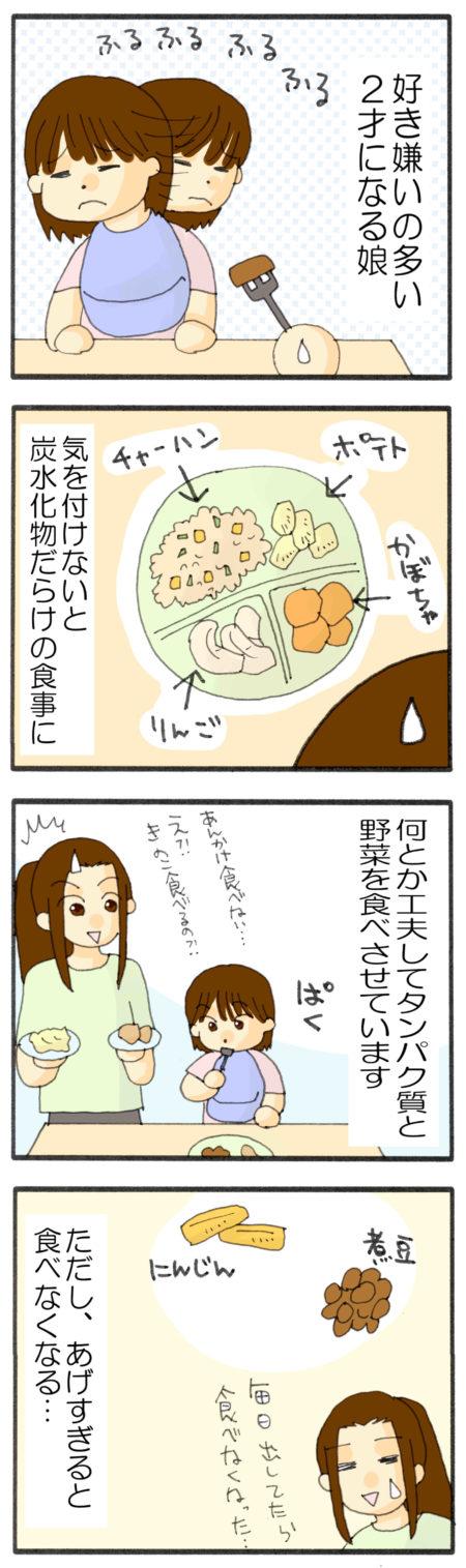 子どもの糖質制限 漫画