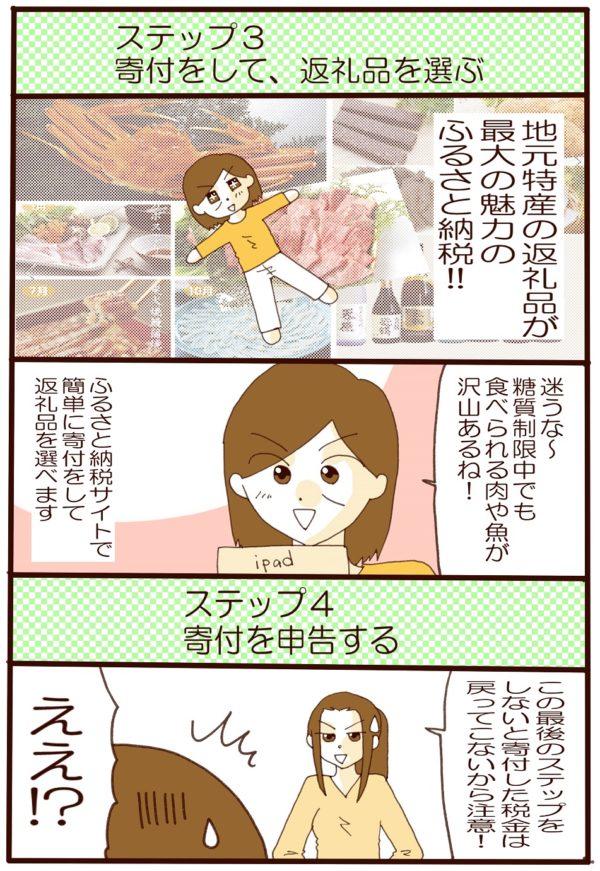 漫画 ふるさと納税 糖質制限