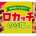 【新商品】ロカッチのり塩味が新登場!熱中症対策にもおすすめ
