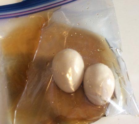 糖質制限 味付け卵