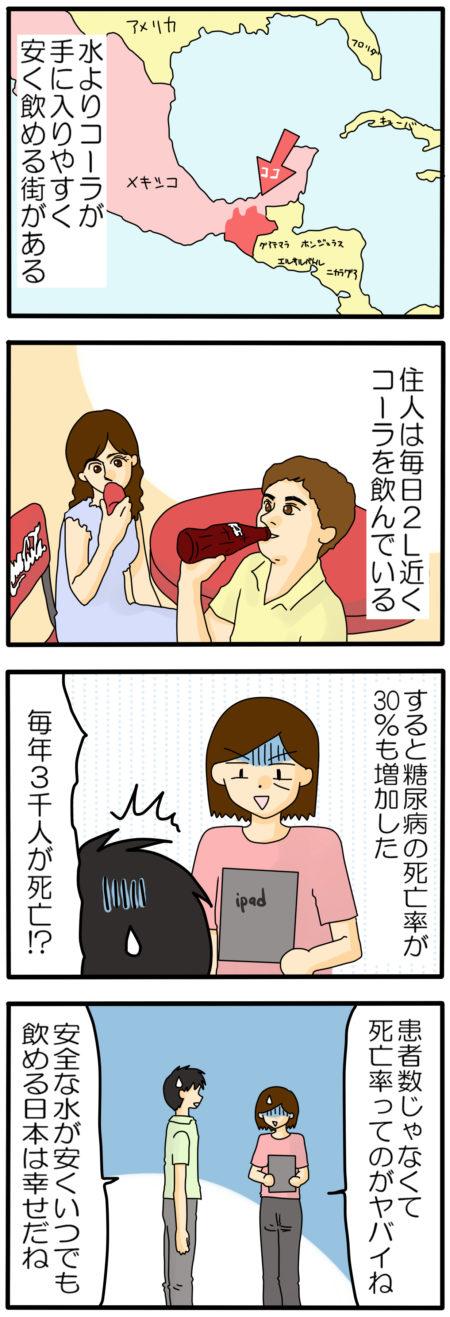 コーラ 糖質 健康