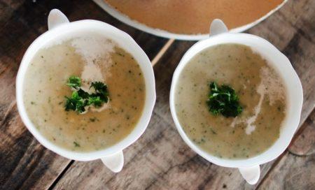 カリフラワースープの写真